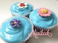 Electric blue choc